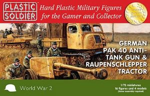WW2G20005 Pak 40 and Raupenschlepper tractor